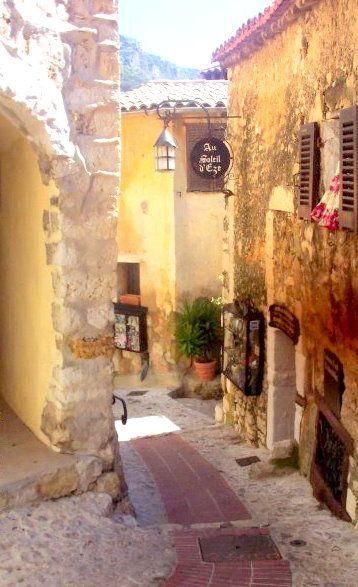 The hilltop village of Eze, France