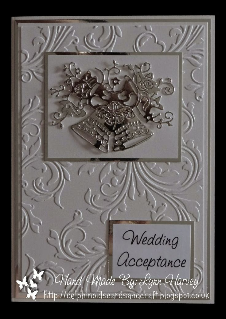 Delphinoid's Cards and Craft: Wedding Acceptance