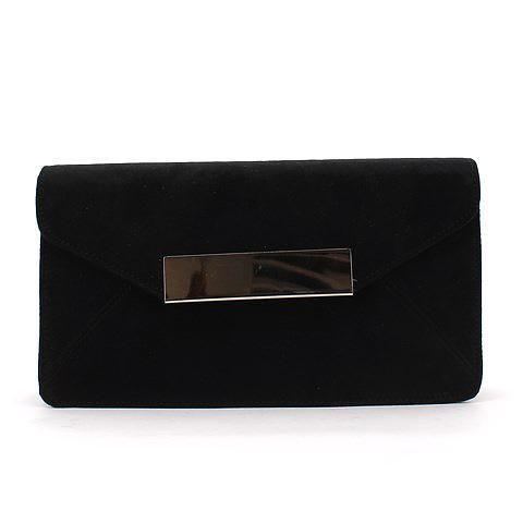 WANDERLUST clutch in black. #mybetsonBetts #BettsRaceDayReady #BettsShoes