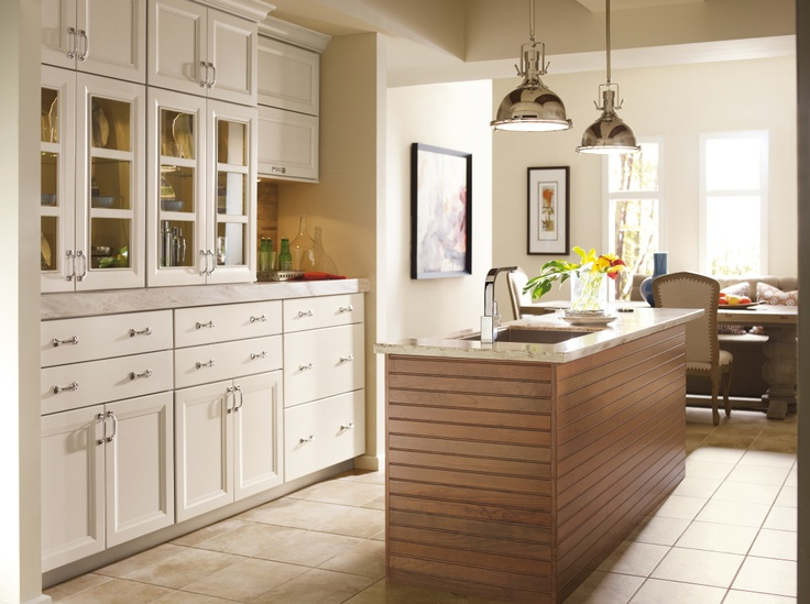 white and cherry kitchen cabinets cherry riverbed finish on the kitchen island and ceiling 28452