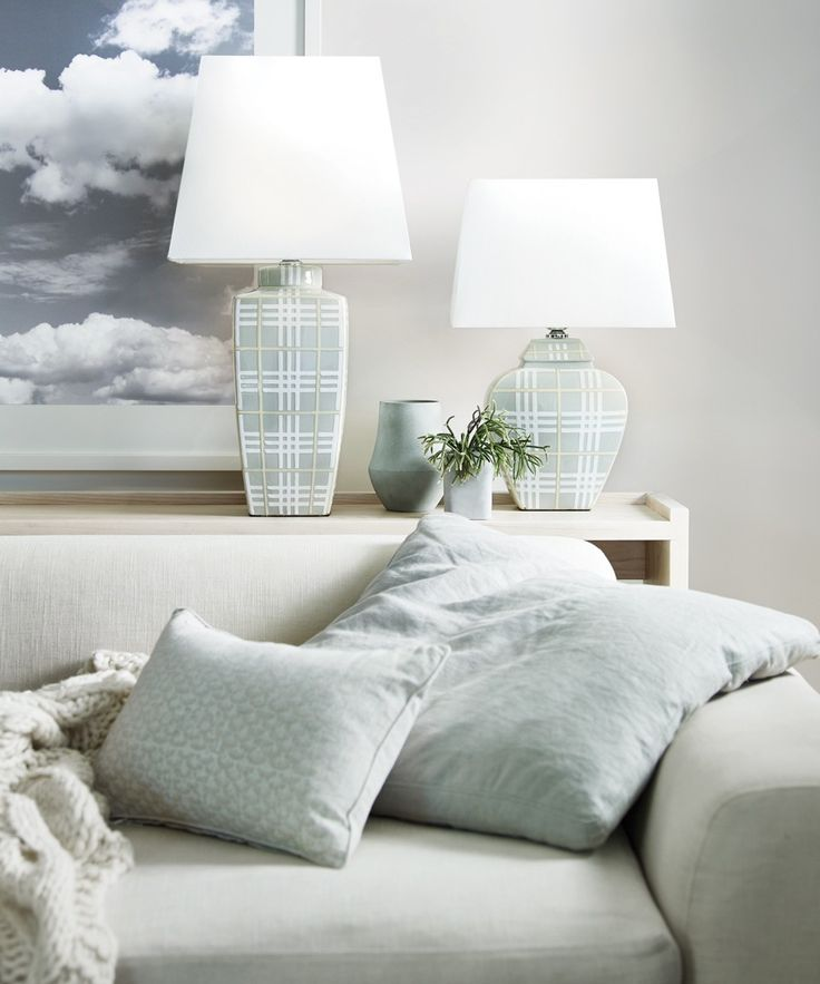 Bonnie Large Table Lamp in Off White