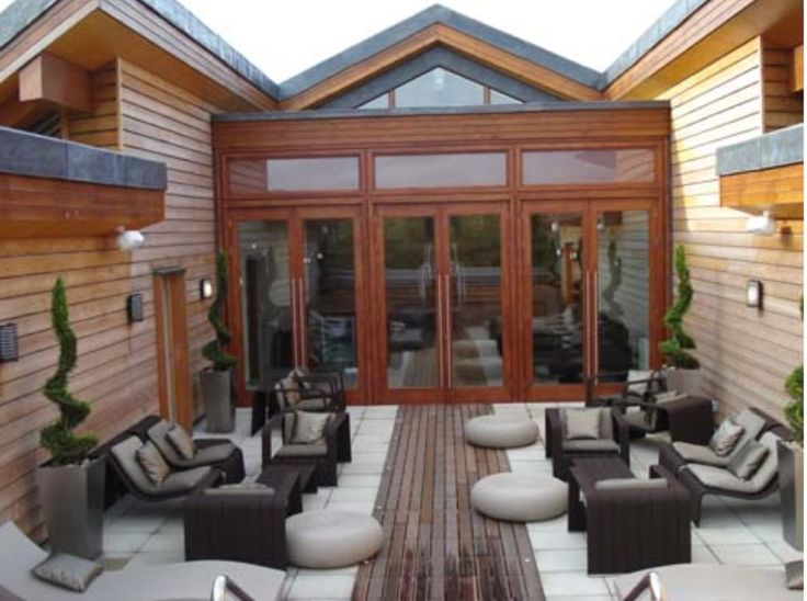 Cameron House Spa, rooftop relaxation area