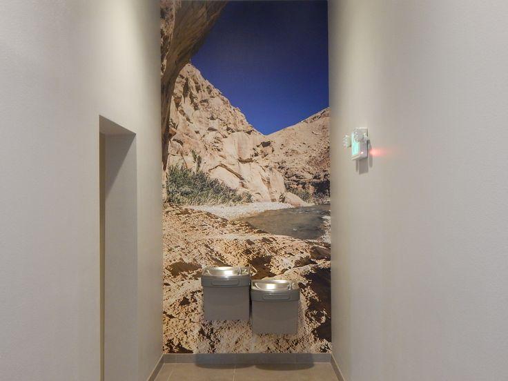Interior branding: Temecula Valley Toyota located in Temecula, CA. Contact DesertWraps.com at 760-935-3600. #Temecula #Toyota #InteriorBranding #WallWrap #SouthernCalifornia #InlandEmpire