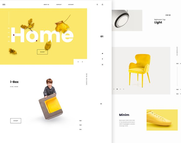 """Check out this @Behance project: """"Minimalistic E-Commerce Website"""" https://www.behance.net/gallery/50870557/Minimalistic-E-Commerce-Website"""