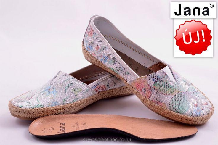 Jana női balerina cipő igazán divatos, kényelmes és a nyári színeket idézi! A Valentina Cipőboltokban további Jana cipőkből vásárolhat!  http://valentinacipo.hu/24604-36-908  #jana   #jana_webshop   #jana_cipő