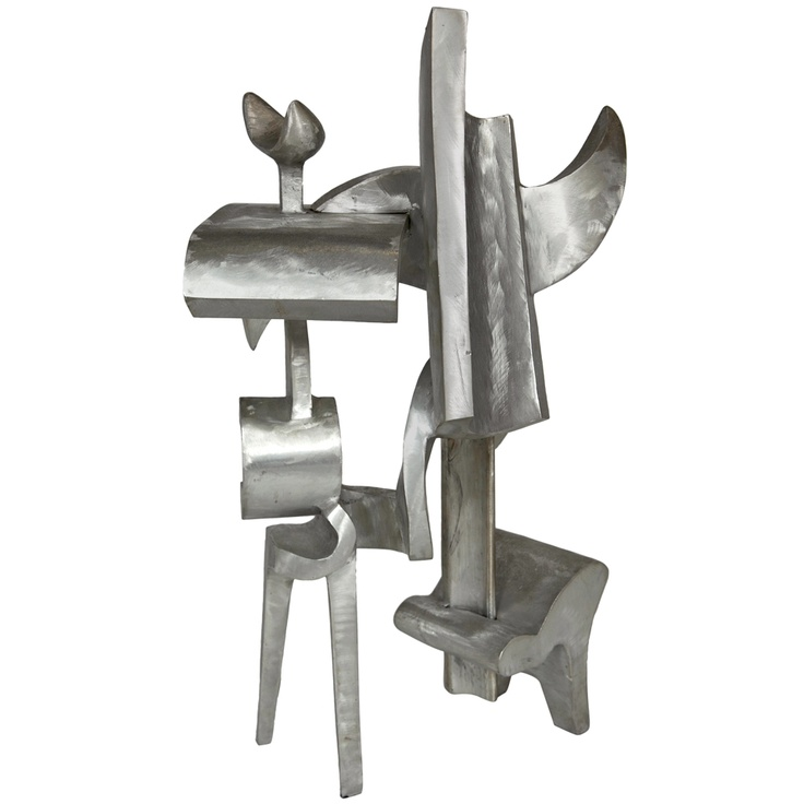 1stdibs - Large Bill Barrett Welded Aluminum  Abstract Sculpture 1977 explore items from 1,700  global dealers at 1stdibs.com