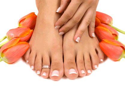 Wellness pedicure voet verzorging voeten nagels verzorgen beauty