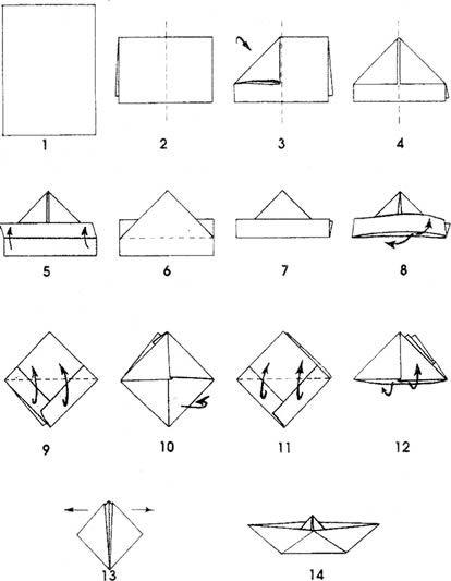 bateaux en origami cartonnage papier pinterest. Black Bedroom Furniture Sets. Home Design Ideas