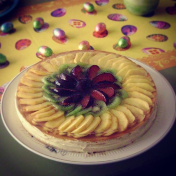 Torta de frutas, Matetrinken de Pascuas
