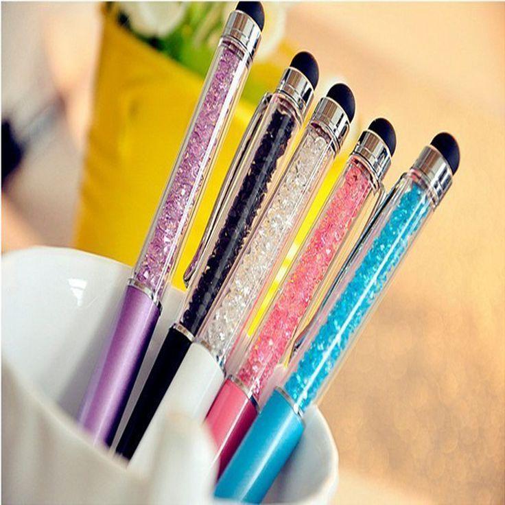 Купить товарМило кристалл ручка с бриллиантами шариковые ручки канцтовары шариковая ручка 2 в 1 кристалл стилус стилус больше цвета для выбирают в категории Шариковые ручкина AliExpress.    Милые хрустальные алмаз Шариковая канцелярских ручек 2 в 1 Кристалл Стилус Стилус больше цветов для выбора         Цв