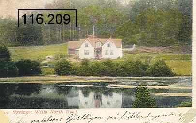 Vykort Skåne Tyringe