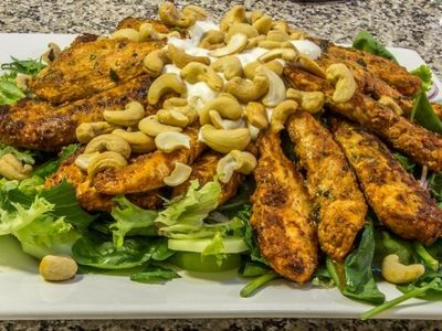 Tandoori Chicken Salad recipe