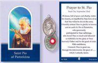 St. Pio Relic Medal.