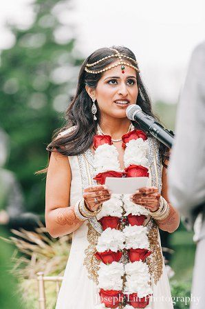 indian wedding bride jai mala http://maharaniweddings.com/gallery/photo/12751  www.sameepam.com