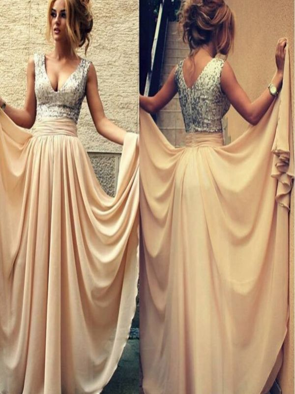 Long Custom Prom Dress,sequin prom dress,Sherri Hill prom dress,evening dress gown,v-neck prom dress,mismatched prom dress,dress for teens,vintage prom dress,discount prom dress,bridesmaid dressPD008174