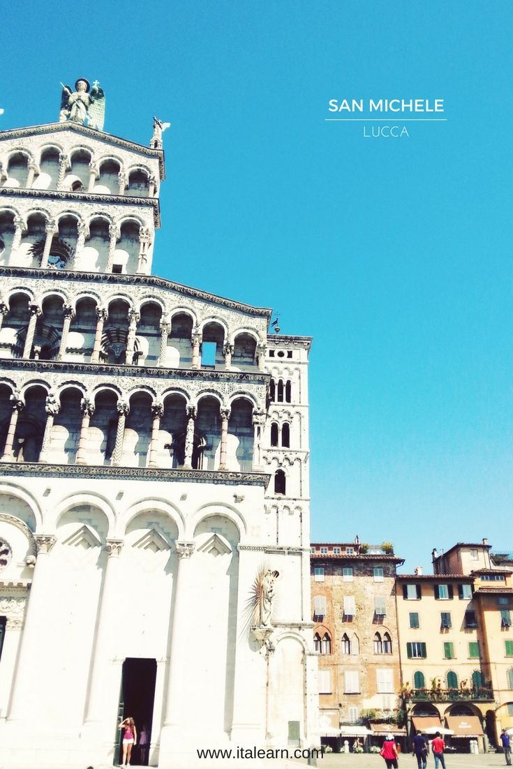 The San Michele Church, one of the most iconic views of Lucca