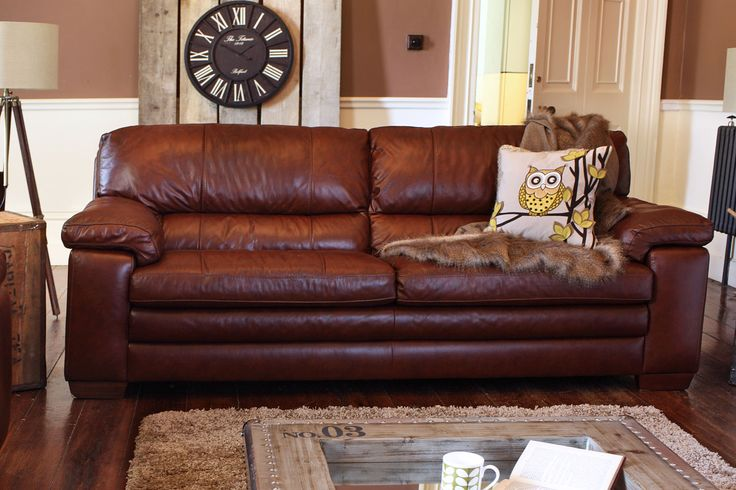 Lumina 3 seater leather sofa from harvey norman ireland - Harvey norman living room furniture ...
