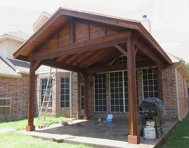 patio cover designs | Patio Covers Dallas - Covered Patio, Patio Cover, Patio Design ...
