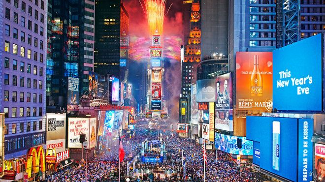 I would love to see the ball drop in NY at  TIme Square this is one my monumental dreams I pray will come true. Marcie Lynne