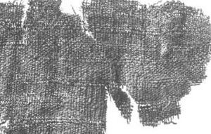 Research paper  Viking Women: Underdress By Hilde Thunem (hilde@thunem.priv.no) (Last updated March 10th 2014)  Fragment of S31 showing the structured linen weave