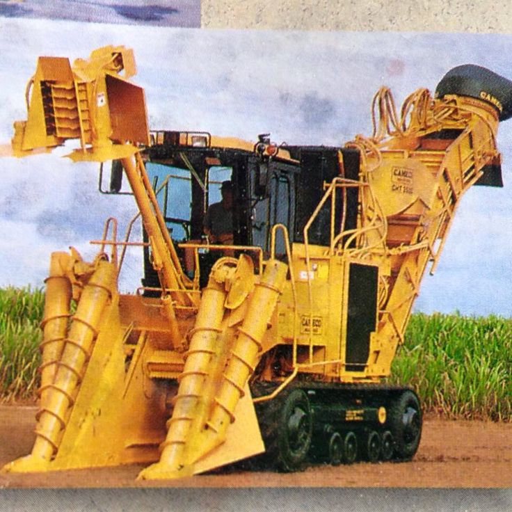 Cameco Sugar Cane Harvester : Cameco cane harvesters pinterest heavy equipment