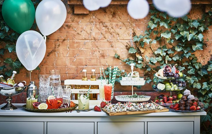 The ultimate wedding feast (on a budget), work for IKEA. Recipes & food styling: Louise Ljung Photography: Andrea Papini/IKEA