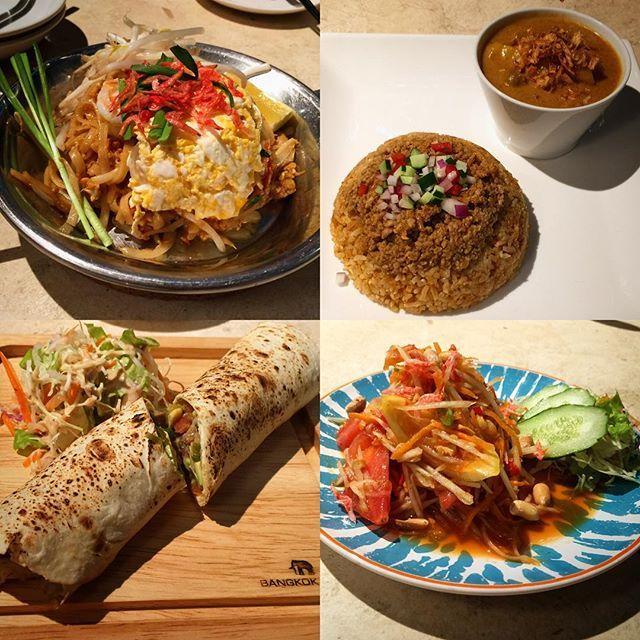 大名『Bangkok Time』へ。 タイ料理のお店です。 大和民族向けに料理は少し辛さを抑えているそうで、辛いのが好きな方は激辛指定もできます。 タイ料理は、あまり好みではなかったのですがこのお店の料理を食べてからタイ料理好きになりました。  そして何より素晴らしいのがスタッフ。 我が国もまだまだ大丈夫と思えるような素敵な若いスタッフが笑顔で迎えてくれます。 世界中を旅してきたという太助の言葉に強い魂を感じます。 料理最高!スタッフ最高!楽しい大名の夜でした。  #福岡 #博多 #天神 #赤坂 #大名 #タイ #タイ料理 #バンコク #BangkokTime #BangkokTimecafeandbar #肉 #肉屋 #肉料理 #カレー #カレーライス #ナシゴレン #パッタイ #ソムタム #マッサマンカレー