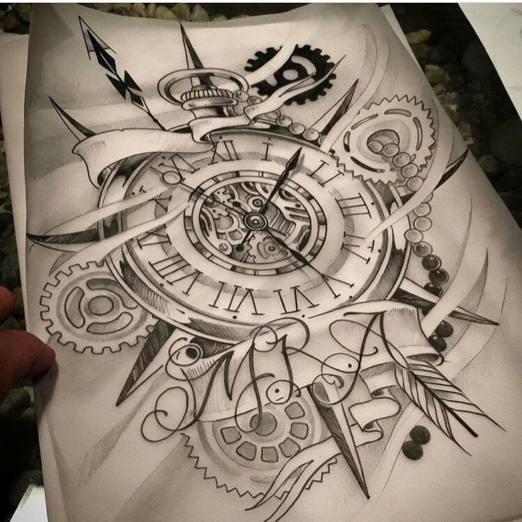 25 Interlocking Tattoo Designs Ideas: 25+ Best Ideas About Watch Tattoos On Pinterest