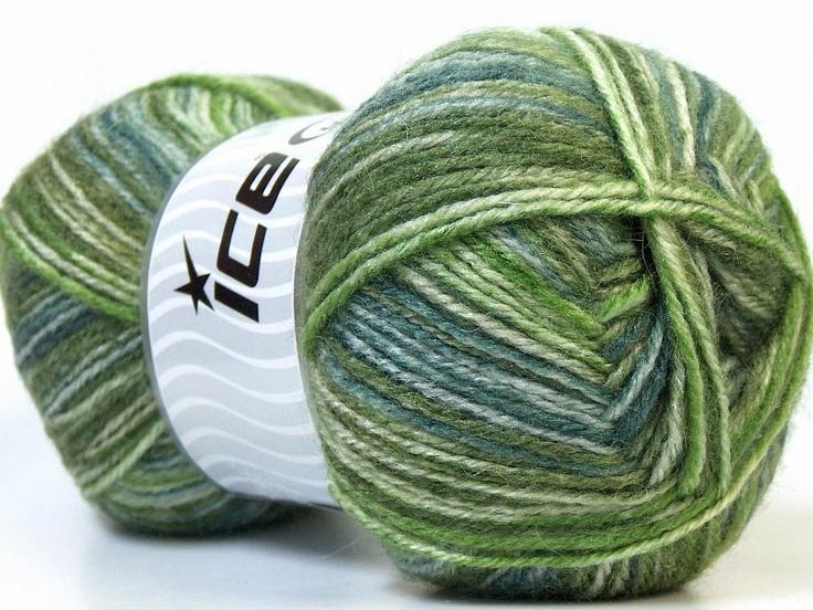 Alpaca Color Nuances de vert