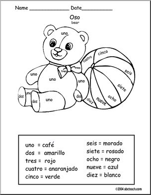 Spaanse werkbladen