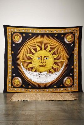 Bright Sun and Moon Tapestry - £20