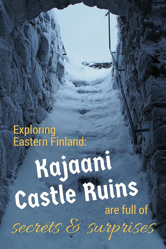 Explore Eastern Finland: Kajaani Castle Ruins Hold Several Surprises | Live now – dream later travel blog