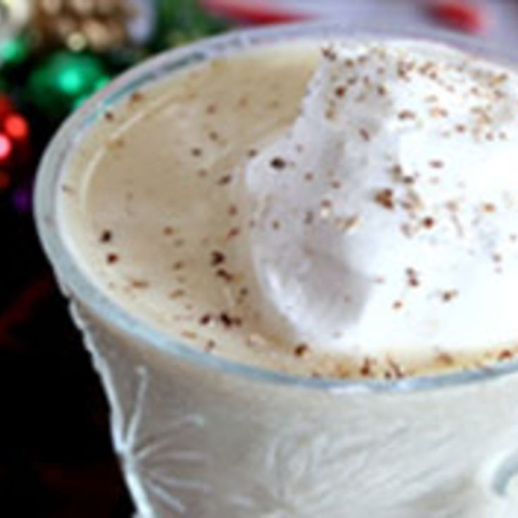 Sugar Free Low Carb Egg Nog---Sounds good except for the fat free half and half...isn't that just milk? Besides fat is GOOD FOR YOU!