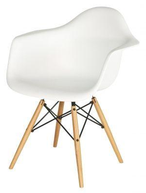 Chaise DAW - Charles Eames - Chaises design - Meubles  Design : reproductions de mobilier de designers #EamesChair