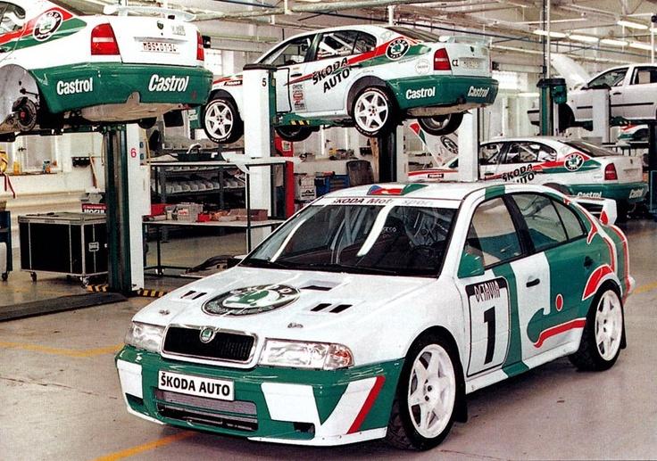 First Skoda Octavia WRC