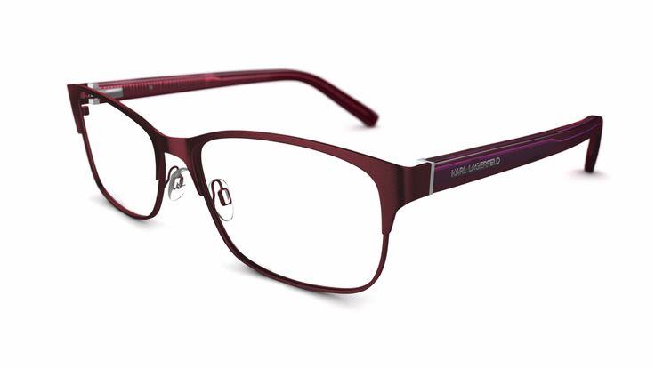 Karl Lagerfeld glasses - KL31 RED $299