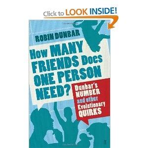 Robin Dunbar - The Science of friendship. Interesting