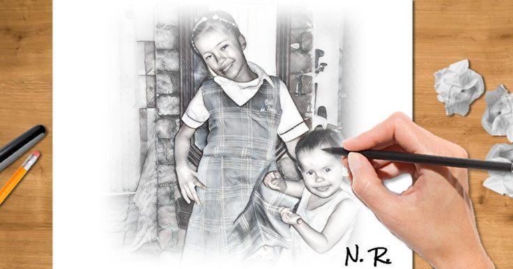 ¿Qué aspecto tendrías si fueras un dibujo? ¡Déjanos hacerte un boceto!