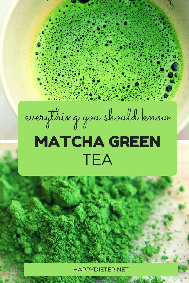 Everything You Should Know About Matcha Green Tea