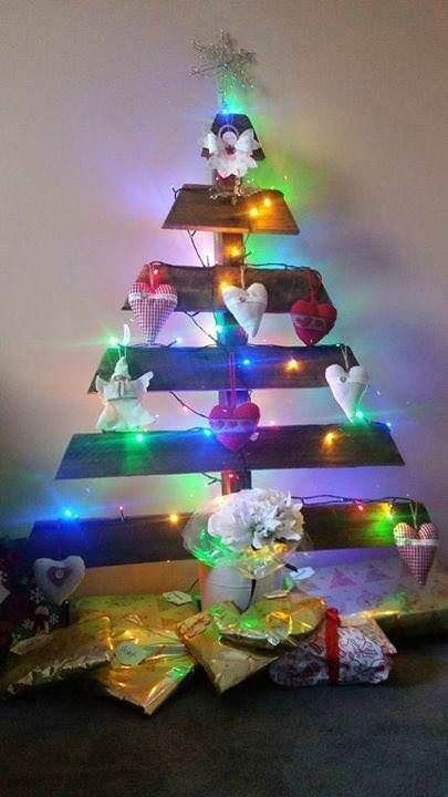 17 Best ideas about Pallet Christmas on