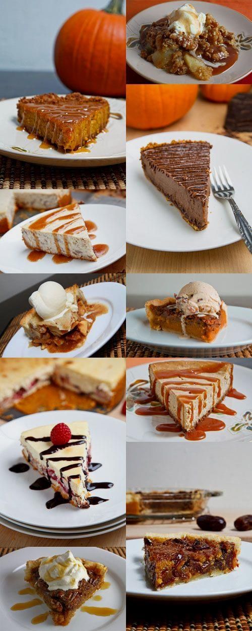 Check it Out . . 10 Fabulous Thanksgiving Desserts! You just…
