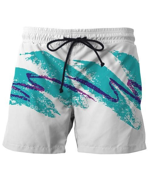 f86df15790 Paper Cup Swim Shorts | My Style | 90s paper cup, Swim trunks, Paper ...
