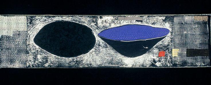 Dorothy Caldwell, A Lake/A Bowl (2002), Photo: Thomas Moore