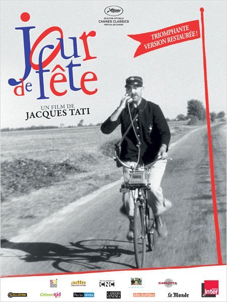 Jour de fête by Jacques Tati, France
