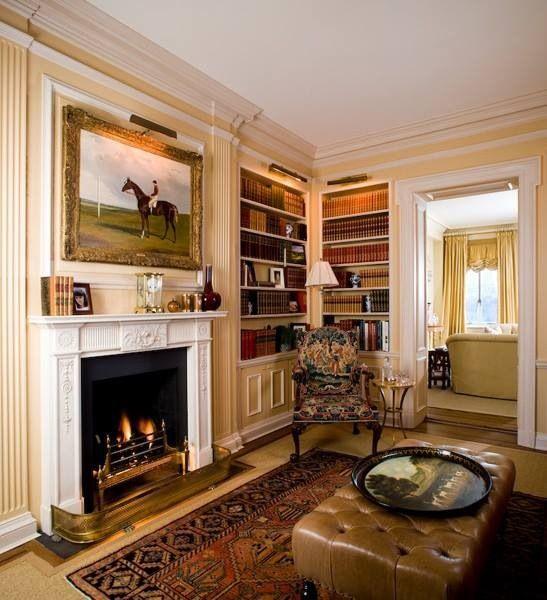 Perfect living room (British interior)