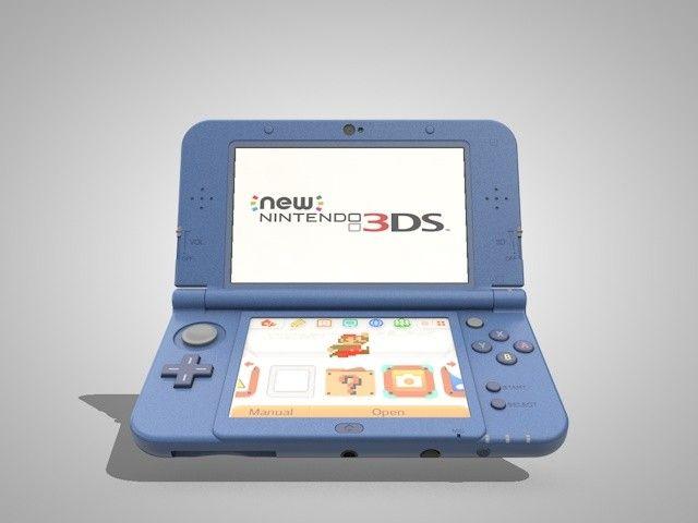 New Nintendo Xl Ll 3D Model - 3D Model