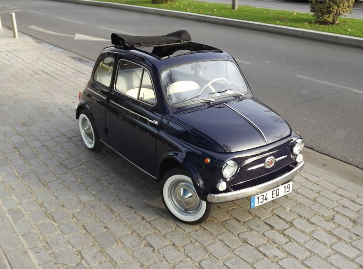 Fiat : 500 Vintage 1963 type 110D- I'll call it Benny and I'll cuss at it Italian