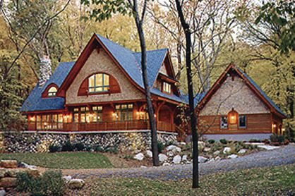 I have loved this home in it's many incarnations for more than 20 years. It's a modern day storybook craftsman cottage in the forest.