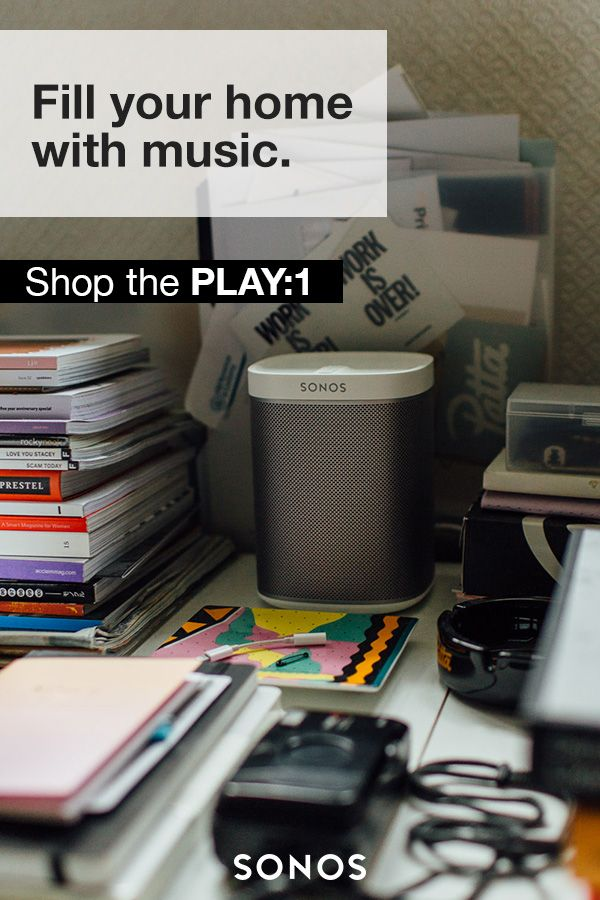 Designed to fit any space, the Sonos PLAY:1 is a small-but-mighty home speaker. It's the perfect fit for bookshelves, counters, and other snug places. Shop today.
