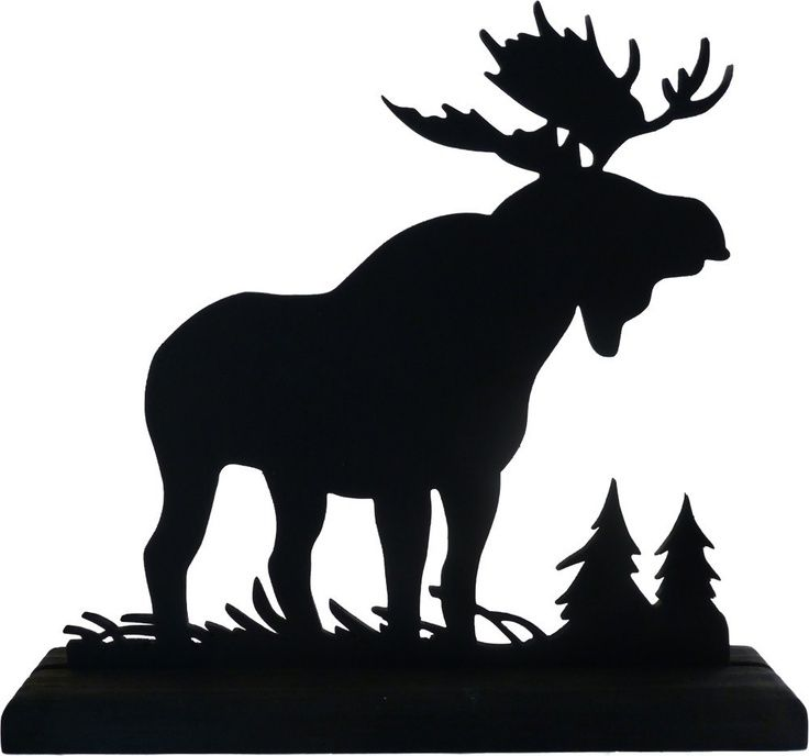 Old Fashioned image pertaining to free printable forest animal silhouettes